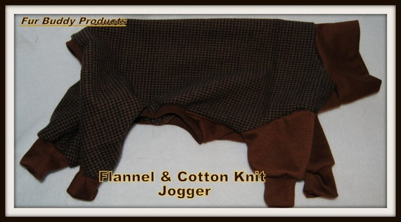 Flannel and Knit Jammies for Hairless, Italian Greyhounds, Chinese Crested and all small dogs.