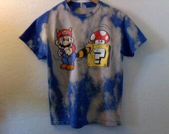 Super Mario Bros. / TShirt / Graphic Tee /80s / 90s / 1990s / RocknRoll / Grunge / Indie / Video Game / Gamer
