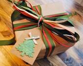 christmas gift tags kraft christmas tags christmas tree tags kraft tags by oscar & ollie