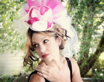 Bride to be Mini top hat fascinator, birthday parties, wedding, Victorian, photos, pageants, holidays, costumes, Halloween