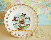 Vintage Souvenir Plate - San Francisco California