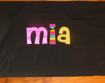 Girl's Personalized Pillow case