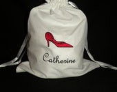 Set of 7 Personalized Lingerie Bags Perfect for Bridal Showers, Weddings and Bridesmaids Gifts