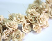 Miniature Roses Handcrafted Clay with Pearl Bead, 156 pcs. with express shipment