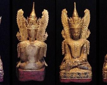 Burmese Shan Buddha, jambupati style
