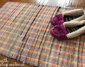 Limited Vintage Rag Rugs Made to Order