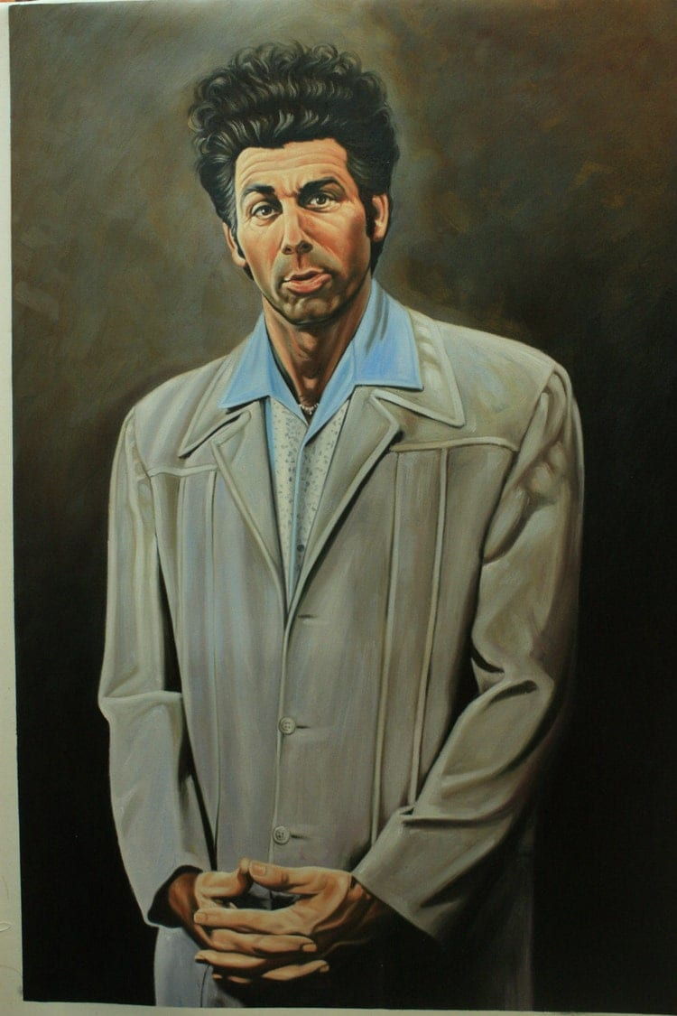 Seinfeld Cosmo Kramer reproduction painting 24x36. by ...