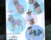 Simplicity Pattern 3587 Dog Puppy Outfits Clothes Size XX Small, X Small, Small, Medium Unused
