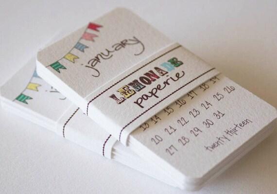 Calendar 2013 Mini Doodle Desk Calendar