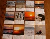 Jersey Shore Calendar 2013 5 x 7 Loose Leaf Photo Beach Ocean