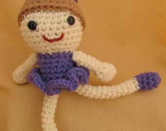 Sugar Plum Fairy Ballerina Crochet Amigurumi Pattern