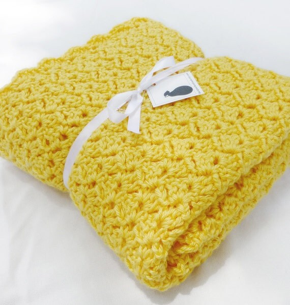 Lemonade Crochet Afghan Pattern : Etsy - Your place to buy and sell all things handmade ...