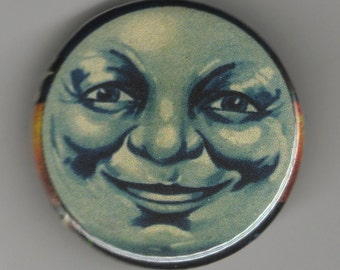 Once in a Blue Moon  1.25 inch Button