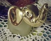 Vintage AVON Elephant Perfume Bottle