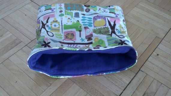 BLOWOUT SALE Medium Love arts and Crafts pouch for small animals.