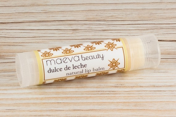 Dulce de Leche Natural Lip Balm