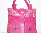 SPECIAL OFFER - Leather Handbag Shoulder Cross-body Bag Purse Messenger Orea M / Sale
