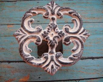 1 Cast Iron Custom Color Curtain Tieback Holder Hardware for Windows