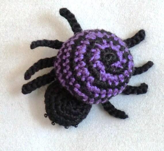 Amigurumi Spider Pattern : Parker the spider crochet amigurumi pattern