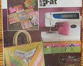 Fat Quarters Sewing Accessories Pattern, Pincushions, Glasses, Scissors, Needle Cases, Tote Bag, Organizer, Butterick 4476 UC