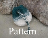 Sheffield Felted Pouch Pattern (PDF Download)