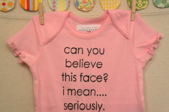 can you believe this face --- pink patterned snapsuit, size 3 - 6 months