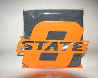 Oklahoma State University Napkin Holder