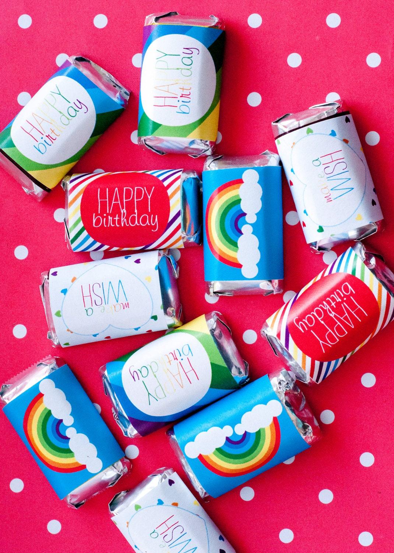 Mini candy bar   Etsy