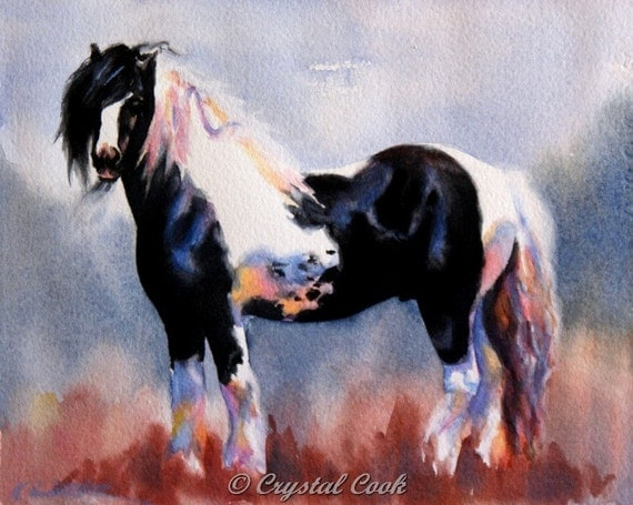 Custom Horse Portrait - reserved for Sue