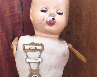 """Vintage Altered Doll """"Chastity"""""""