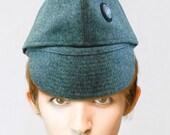 Swiss Army Surplus Winter Cap - Three Hats in One - Mens Medium