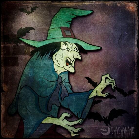 Season of the witch 8x8 gothic, creepy, spooky, halloween, fine art photo