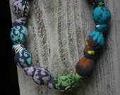 Charcoal & Colors-Mommy and Baby Teething/Nursing Necklace