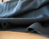 merino wool jersey fabric : teal knit