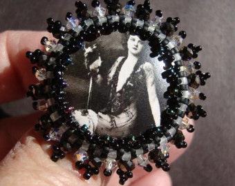 Ziegfeld Girl Glam Adjustable Ring