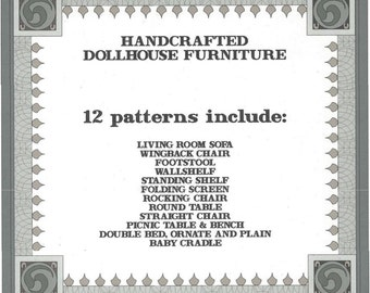Cardboard Dollhouse Furniture Plans