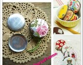 5sets-50mm (2inch) Macaron coin purse Circle base Aluminum base (Metal purse frame bag frame)