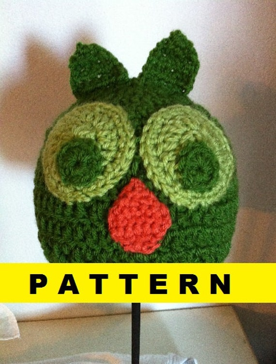 CROCHET PATTERN Owl Baby Hat by CROCHETBYMELISSA on Etsy