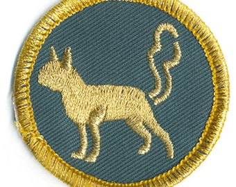 Small Dog Fart Merit Badge