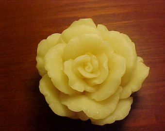 White Tea Ginger Rose Flower Vegan Palm Oil Glycerine Soap Favor