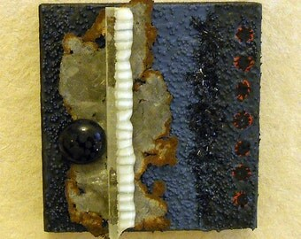 Seascape II: found object assemblage