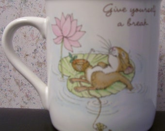 "Hallmark Mug-""Set Aside Some Time Today For You""-Collectible - 1986   - With Box"