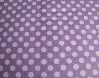Lavendar Small Cotton Dots Riley Blake Designs 1 Yard