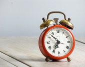 vintage little mid century modern alarm clock