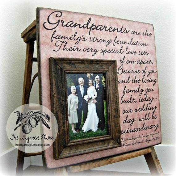 Personalized Grandparents Picture Frame, Nana, Papa ...