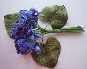 Millinery Violets