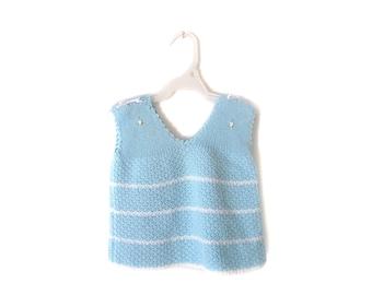 SALE!!!!   Vintage Baby knit vest / sweater