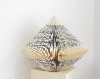 Book Art: Eva Luna - Big Book Sculpture