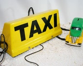RESERVED KERRY Taxi Sign for your car roof, lights up