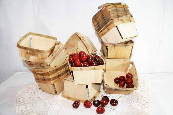 4 Berry Baskets from the Farm